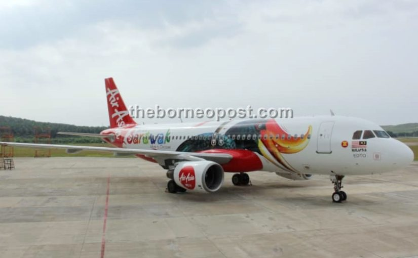 AirAsia plane with special Sarawak livery unveiled