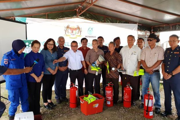 Sarawak trains villagers near gas-pipe route for emergencies